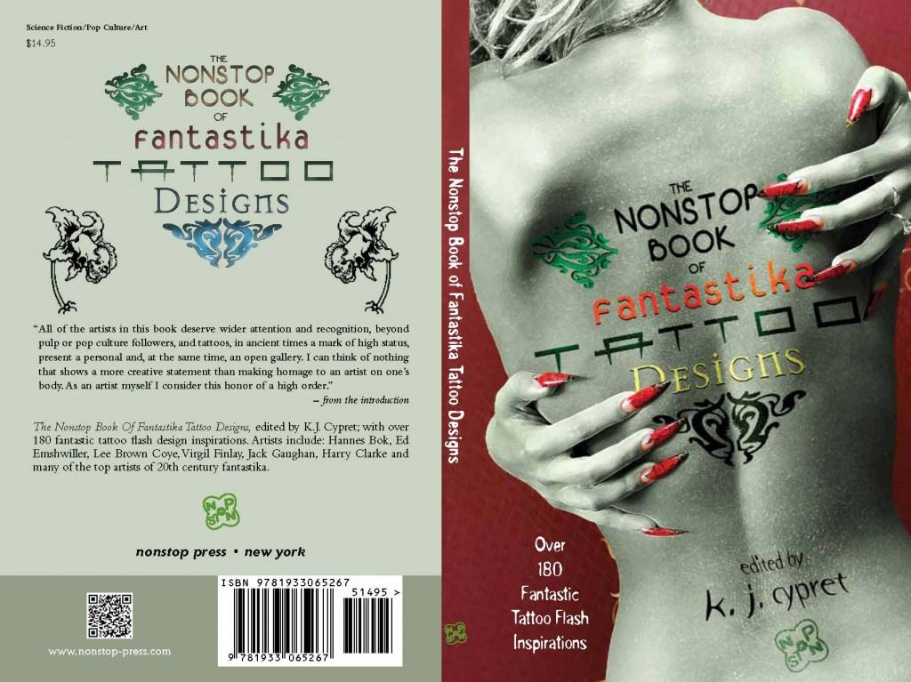 the nonstop book of fantastika tattoo designs nonstop press. Black Bedroom Furniture Sets. Home Design Ideas